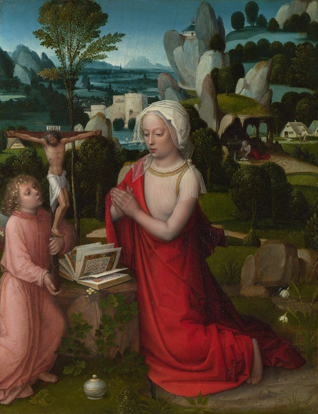 The Magdalen in a Landscape