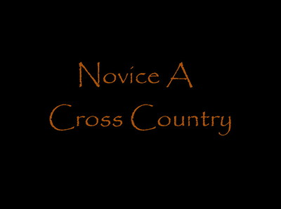 Novice A Cross Country