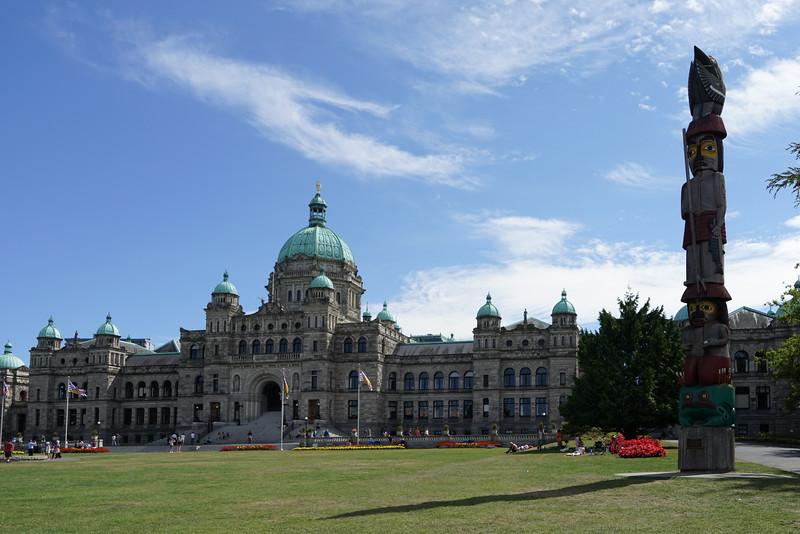 Victoria, British Columbia Parliament Buildings