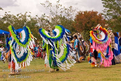 2007 Tule River Pow Wow Intertribal/Contest Dancing