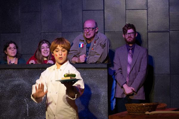 Firehouse Theatre  WRONG CHOPPED Dog Stuff production