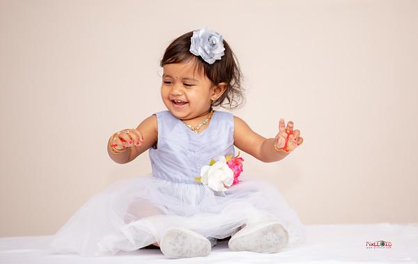 Shritha's 1st Birthday Memories..