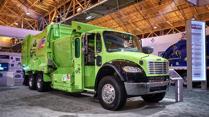 GFL Freightliner M2 G-S Products Side Loader