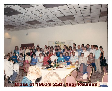 '63  - 25th Year Reunion