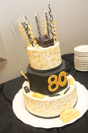 Russell's 80th Surprise party