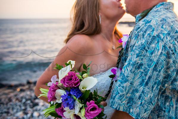 Christina & Nick , a Kona wedding