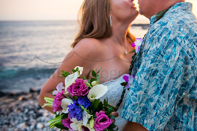 Christina & Nick , a Kona wedding