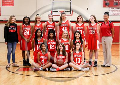 2018 LHJH Girls Basketball