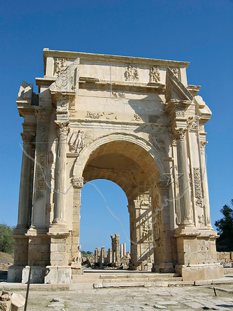 Leptis Magna,