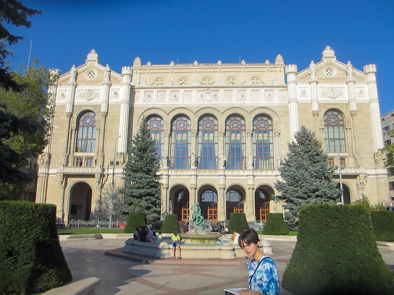 Vigado Concert Hall, a beautiful and imposing structure.