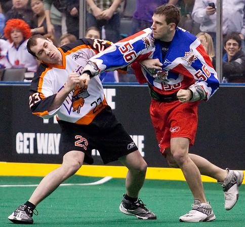 Buffalo Bandits @ Toronto Rock 12 March 2010