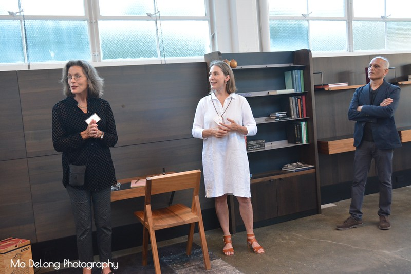 Nikki Wood, Debra Hershon and Zahid Sardar