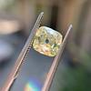 2.10ct Light Yellow Antique Peruzzi Cut Diamond, GIA W-X SI2 13