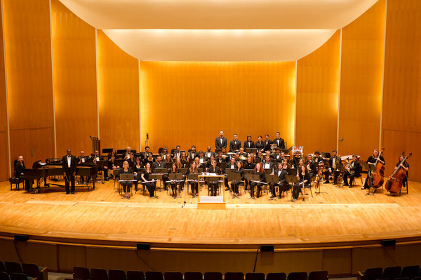 11/16/11 Wind Ensemble and Percussion Ensemble at Kleinhan's