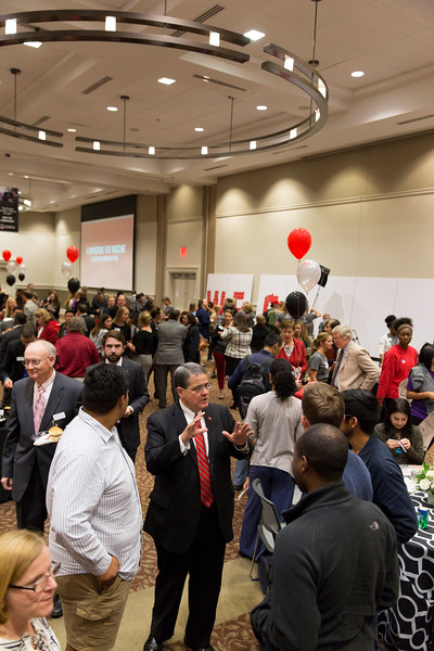 Description: Capital Campaign Campus KickoffDate of Photo: 11/10/2016Credit: Andrew Davis Tucker, University of GeorgiaPhotographic Services File: 34401-038The University of Georgia owns the rights to this image or has permission to redistribute this image. Permission to use this image is granted for internal UGA publications and promotions and for a one-time use for news purposes. Separate permission and payment of a fee is required to use any image for any other purpose, including but not limited to, commercial, advertising or illustrative purposes. Unauthorized use of any of these copyrighted photographs is unlawful and may subject the user to civil and criminal penalties. Possession of this image signifies agreement to all the terms described above.