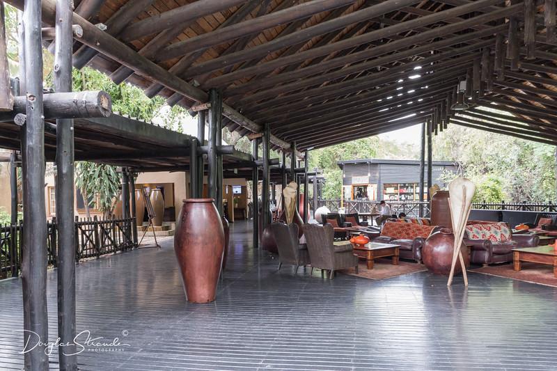 Lobby of Marriott Kruger Gate