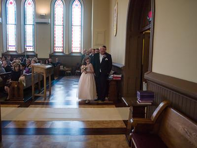 Fronzaglia/Murray wedding