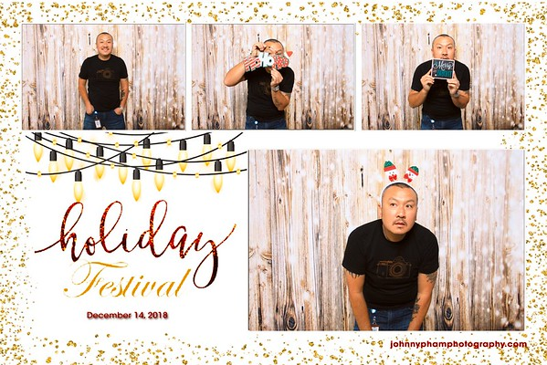Sony Holiday Party 2018 Photobooth