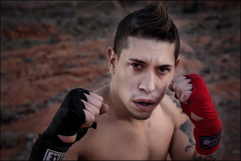 Muay Thai  Ready Anthony Castrejon.