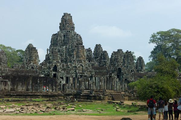 "Angkor Thom (literally: ""Great City"")."