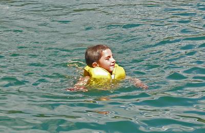 Rifle Lake with AJ and Jackson (Aug 24 2008)
