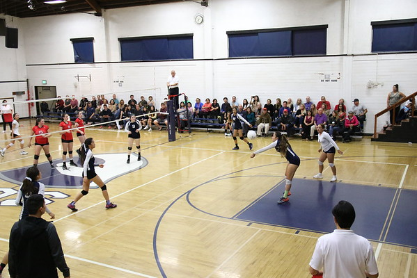 Girls VB vs Bishop Diego 11/1/16