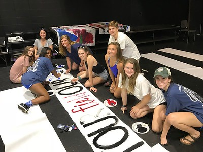 McCallie/Baylor Sign Painting 2017