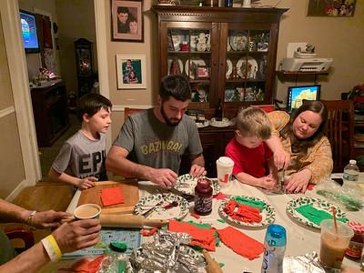 Christmas Sandwich Making 2018