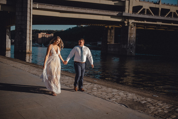 Katelyn + Grant Pittsburgh Engagement