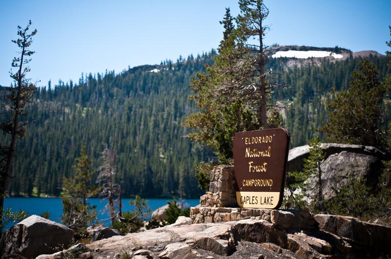 Caples Lake - August '11