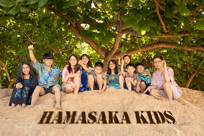 Hamasaka Family portrait - September 22, 2018