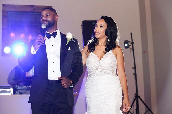 Kenny & Daminique Sims Wedding Day