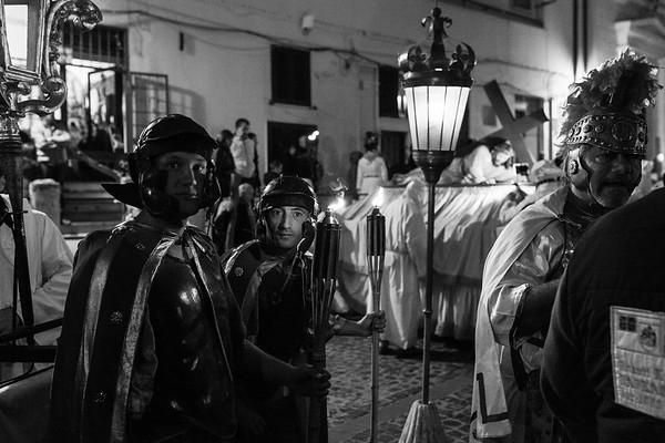 Processione 'Cristo Morto' Civitavecchia