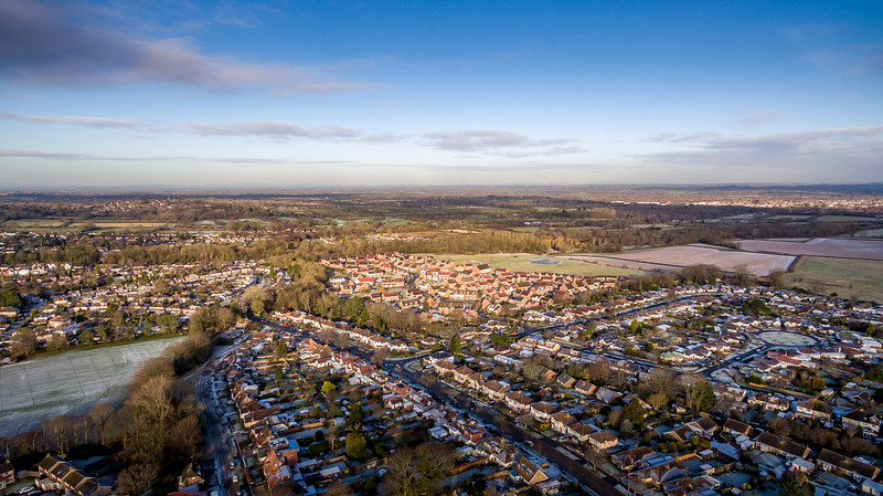Hassocks from the Air 9