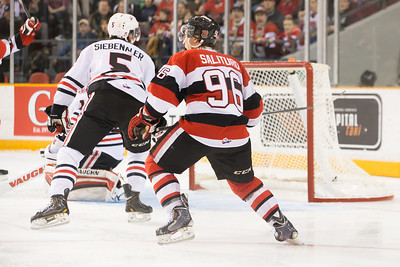 IceDogs vs 67s, playoffs, 150403