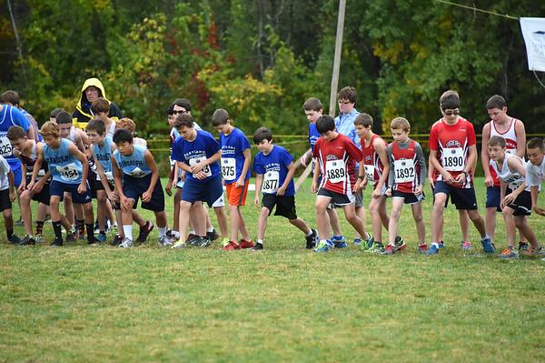 Boys Junior High Woods Trail Run 10/4/14