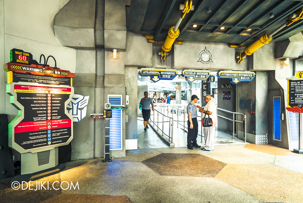 Universal Studios Singapore - Park Update May 2016 / Transformer Entrance