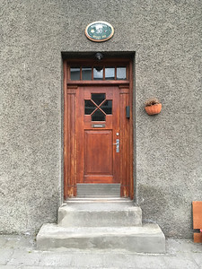 Iceland and Norway - doors