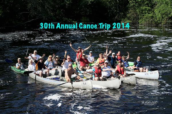 Maurice River Canoe Trip 2014