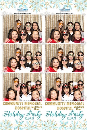 CMH Med/Surg Floor Holiday Party 2018