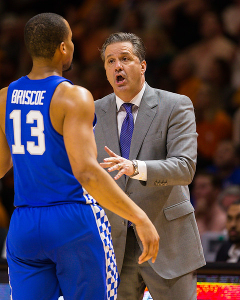 NCAA Basketball 2017: Kentucky vs Tennessee JAN 24