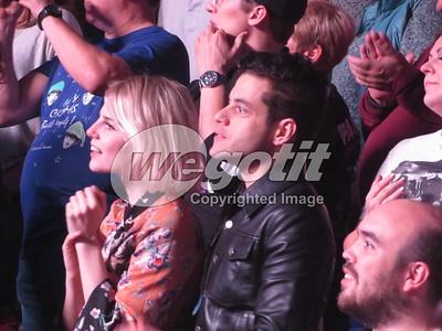 Rami Malek & Lucy Boynton