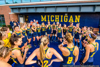 9-1-17 - Michigan Field Hockey Vs Liberty