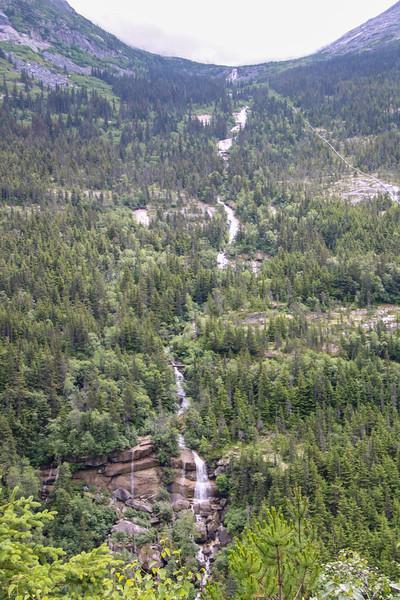 Waterfall - where water is born in Alaska