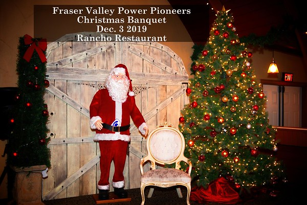 Fraser Valley Christmas Banquet 2019