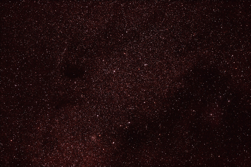 Messier M24 - IC4715 - Small Sagittarius Star Cloud - 21/6/2012 (Processed stack)