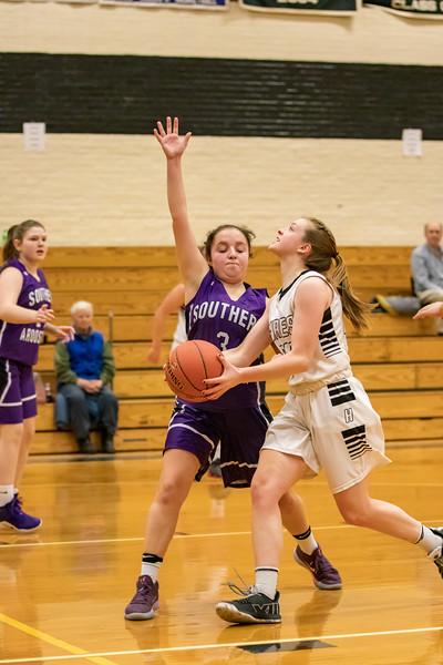 SACS JV Girls VS Houlton 1/21/19