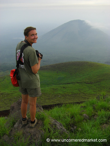 Looking Over the Rim - El Hoyo, Nicaragua