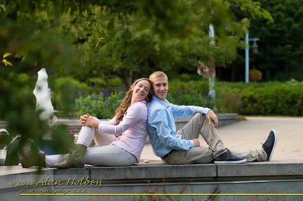 Kristin and Keenan