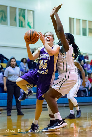 Broughton girl's varsity basketball vs Enloe. Cap-7 Tournament. February 13, 2018.